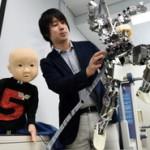 柔らかい動きが可能な子ども型ロボットを開発