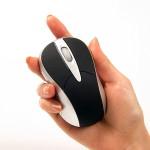 カチカチ鳴らない!カフェや図書館でも使える静かなマウス「サイレントマウス」