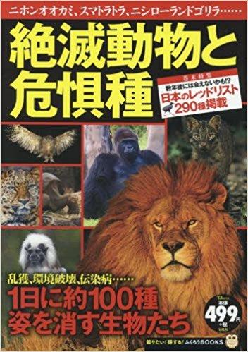 絶滅動物と危惧種