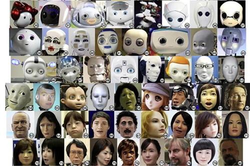 ロボットの顔写真
